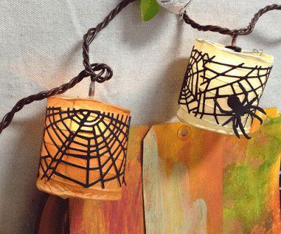 Something Created Everyday: Easy Halloween Lanterns