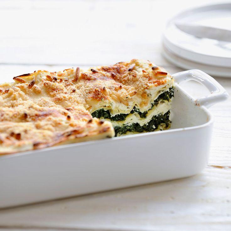 Découvrez la recette des lasagnes aux épinards en boîte