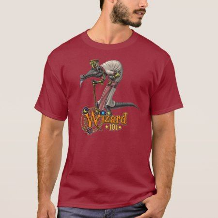 Wizard101 Professor Alhazred (Balance School) T-Shirt - click/tap to personalize and buy