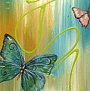 Butterfly Bliss 2 Print by Jean Plout