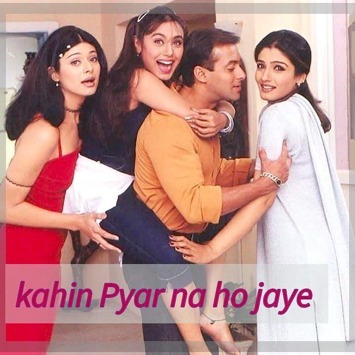 Kahin Pyar Na Ho Jaye Beingsalmankhan Salmankhan Beingsalmankhan Beinghuman Sallu Kahin Pyar Na Ho Jay Bollywood Music Bollywood Couples Bollywood Movies