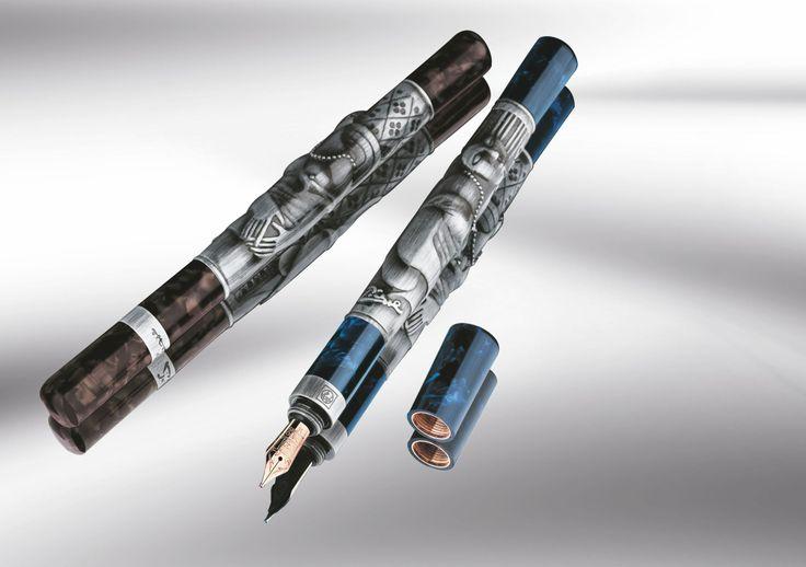 Manalı bir yeni yıl hediyesi: Picasso kalem… Yeni yıl; yeni bir sayfa, yeni bir başlangıç, en baştan yazılacak koca bir senedir... www.gumuskalem.com.tr