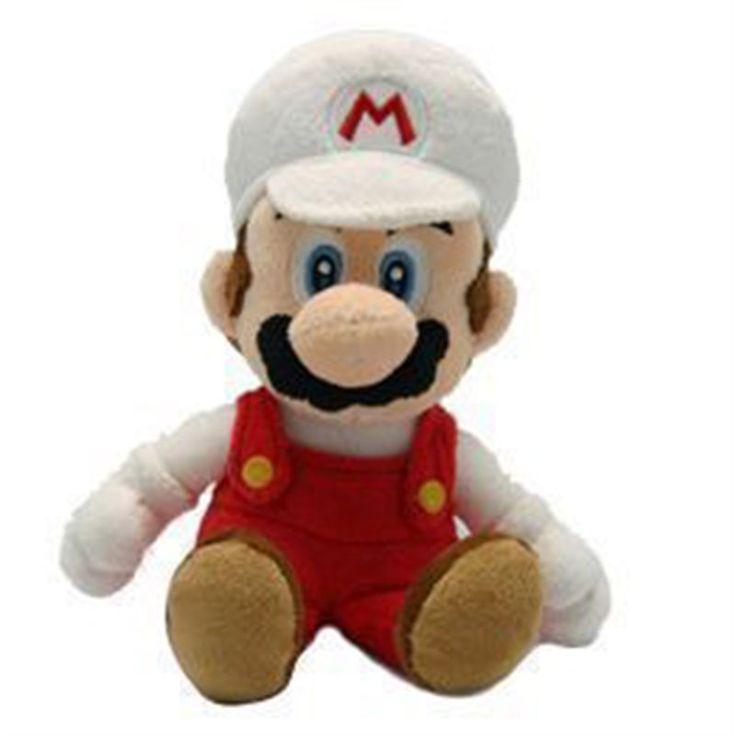 FIRE MARIO PLUSH L'iconico Mario con la Fire Suit vista a partire dall'indimenticabile Super Mario Bros, in un morbidissimo peluche da 20 cm. Licenza ufficiale Nintendo, materiali di qualità. - Maggiori dettagli: http://www.thegameshop.it/it/peluche/522-nintendo-fire-mario-plush-20cm-5016743103101.html#sthash.Wxo0lutS.dpuf