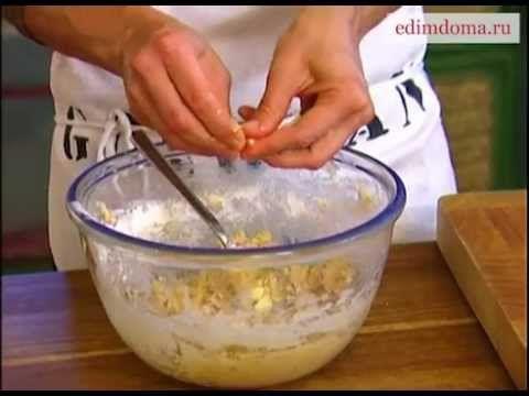 Ингредиенты: 1 стакан овсяных хлопьев (геркулеса) 1-1 1/2 стакана муки 100 г размягченного сливочного масла 1/2 стакана коричневого сахара 2 яйца 1 стакан ор...