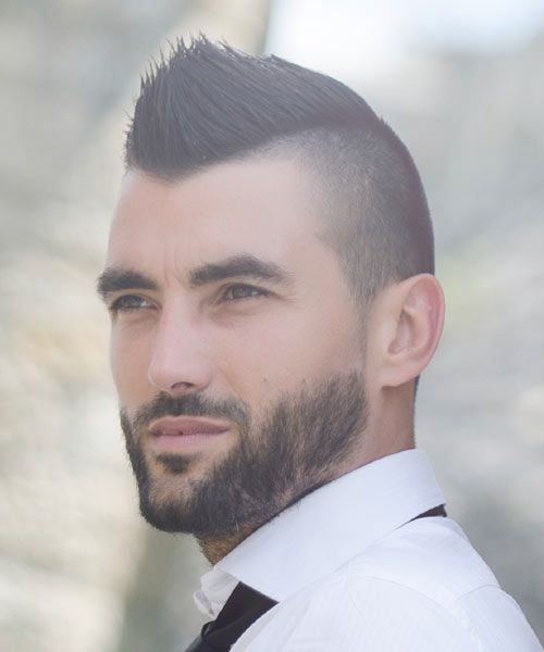 If you want something different than the usual slick styles, check out this mohawk for 2015. It's the same haircut but with a fresh new look.