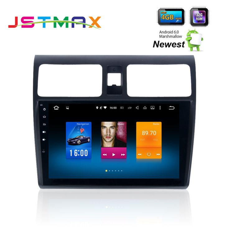Car Stereo Head Unit 2 Din android GPS for Suzuki Swift 2005 - 2010 Swift auto-radio navigation 4Gb+32Gb Android 6.0 PX5 8-Core. Yesterday's price: US $427.00 (353.04 EUR). Today's price: US $375.76 (310.23 EUR). Discount: 12%.