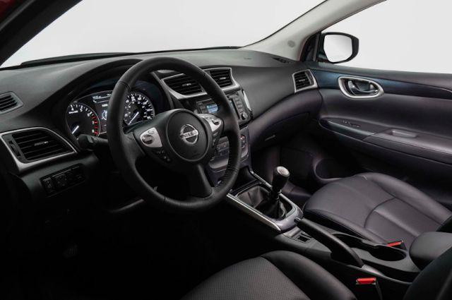 2017 Nissan Sentra  Interior Design