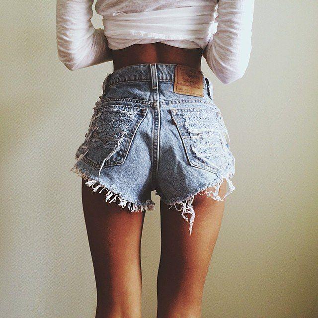 19 best High Waisted Shorts Addiction images on Pinterest