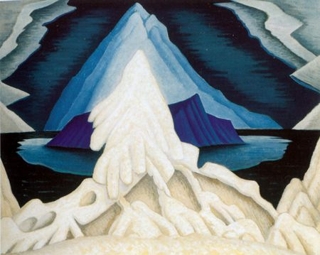Lawren S. Harris - Winter Comes from the Arctic to the Temperate Zone 1935