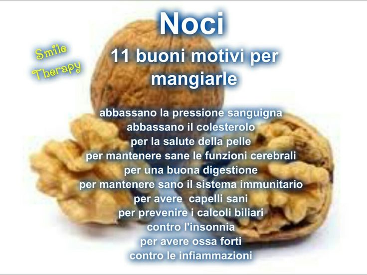 Noci benefici