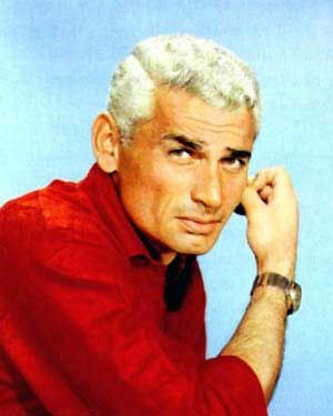 "Jeff Chandler (1918 - 1961) Silver-haired actor with a distinctive voice, he played Cochise in the movie ""Broken Arrow"", he also appeared in ""Man in the Shadow"", ""Return to Peyton Place"" and other movies"
