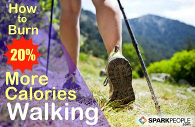 A simple secret to ramp up your calorie burn during a walk. | via @SparkPeople #fitness #exercise #workout