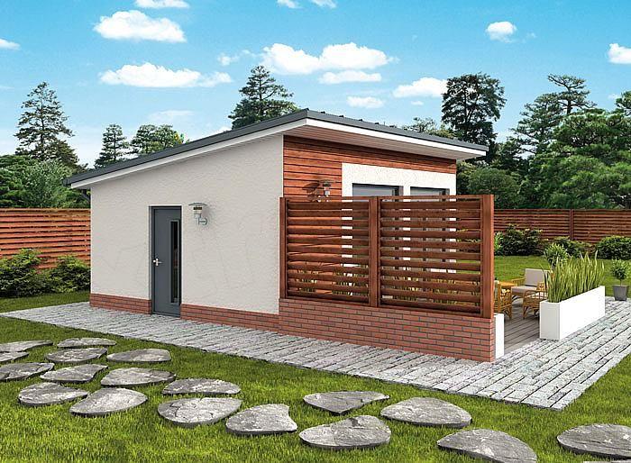 Projekt Kuchni Kl3 Kuchnia Letnia Bud Gospodarczy Backyard House Minimal House Design House Plan Gallery