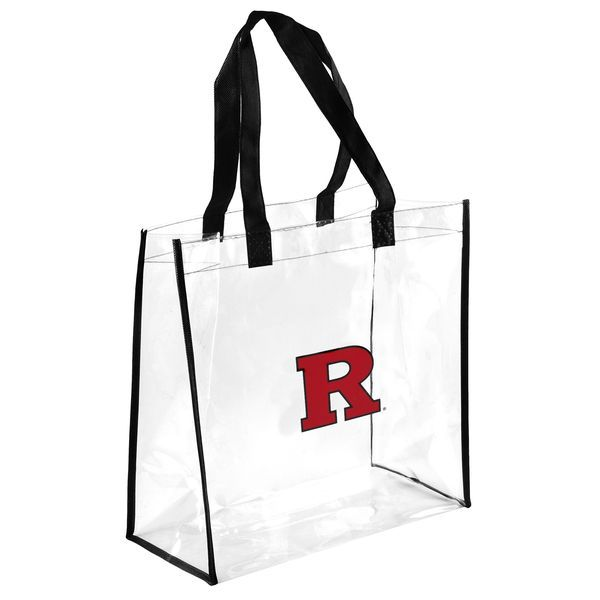 Rutgers Scarlet Knights Clear Reusable Bag - $8.99