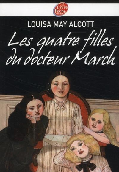 Les quatre filles du docteur March de Louisa May Alcott. En 1861, aux Etats-Unis, la guerre de Sécession fait rage. Le docteur March s'engage dans l'armée et laisse seules sa femme et ses quatre filles : la coquette Meg, la timide Beth, la bouillante Jo et l'insupportable Amy.