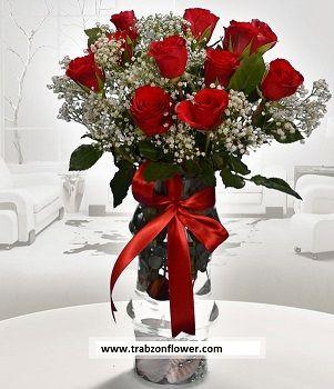 11 gül ve cibso http://www.trabzonflowers.com/