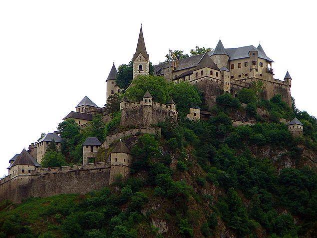 Burg Hochosterwitz Kalesi - Avusturya