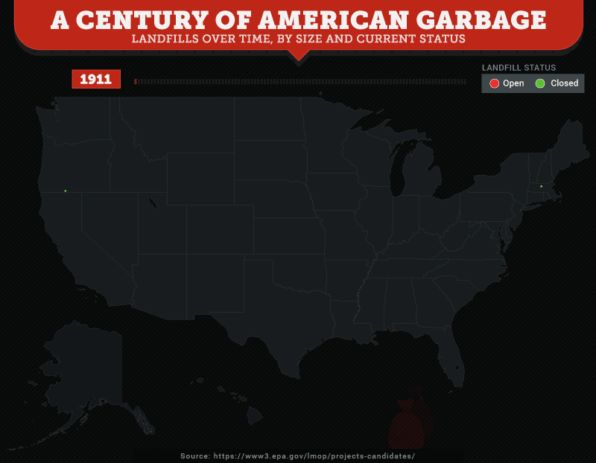 These Maps Show How Many Landfills There Are In The U.S.