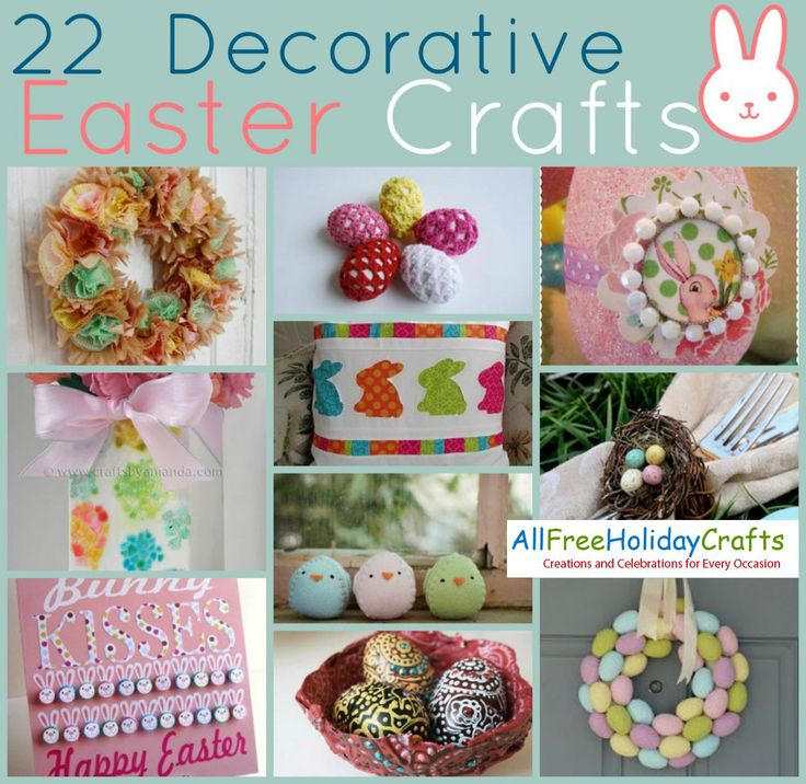 22 Decorative Easter Crafts | AllFreeHolidayCrafts.com