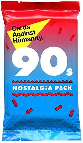 Cards Against Humanity The 90s Nostalgia Expansion Pack Cards Against Humanity http://www.amazon.com/dp/B00JMN0FN8/ref=cm_sw_r_pi_dp_BNV5tb1X7VMR6