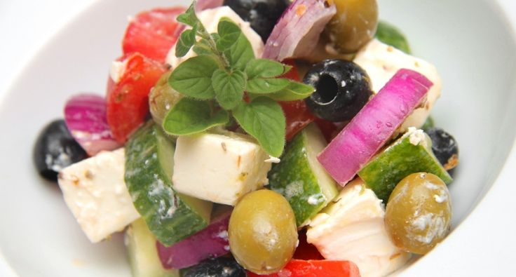 Görög saláta recept (Horiatiki)