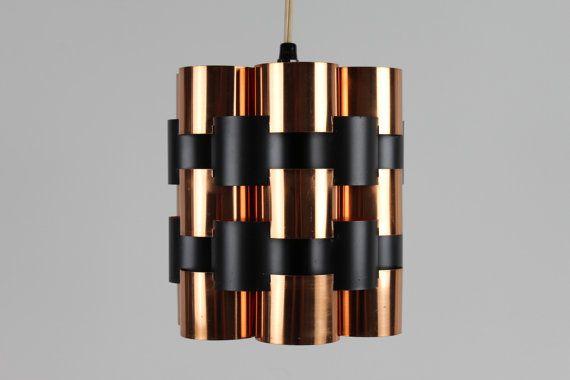 Copper Pendant in Werner Schou style Scandinavian by danishhome