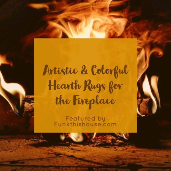 Fireproof Hearth Rugs Don T Burn Down The House Hearth Rugs Fireplace Hearth