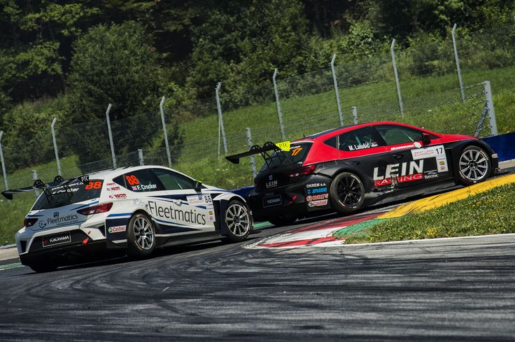 SEAT Leon Eurocup 2015. Red Bull Ring. Race 2.