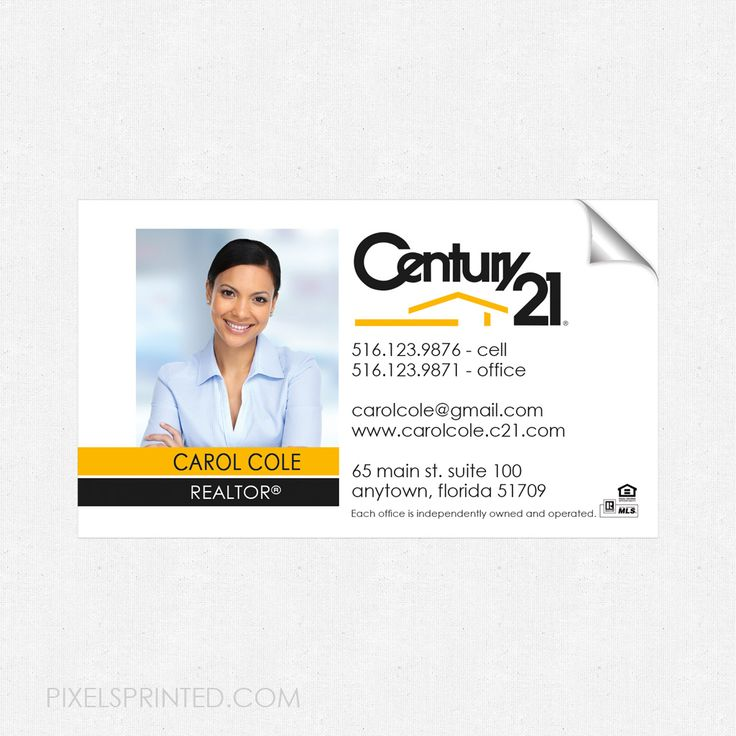 64 best Century 21 real estate stationery. images on Pinterest