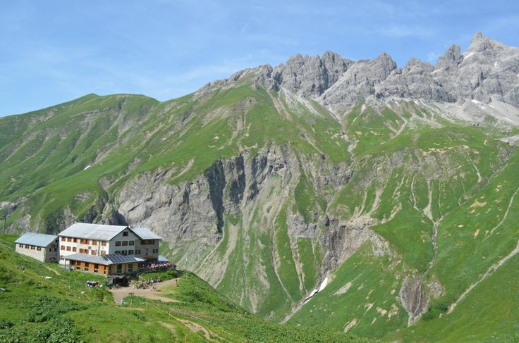 Die Kemptner Hütte: Eine beliebte und stets gut besuchte DAV-Hütte am Allgäuer Hauptkamm.