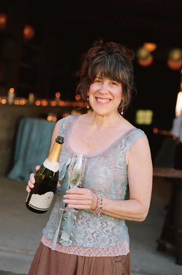 Julie Atwood of Atwood Ranch, Sonoma Valley.