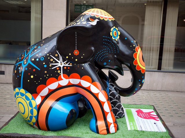 'Little Bird' - Elephant Parade in London, England 2010;  photo by drplokta, via Flickr
