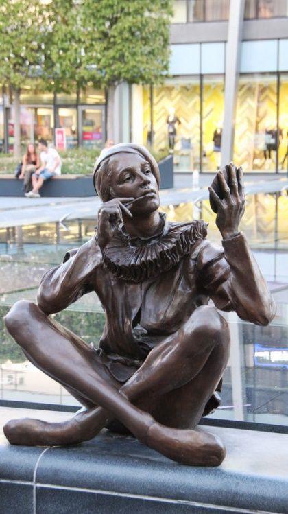 Pier . Bratislava,Slovakia . Sculptor  Colin Spofforth