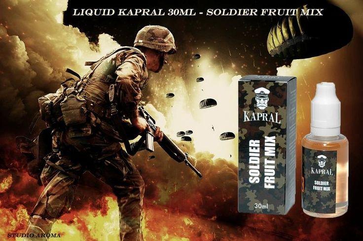 Naszego BOHATERA ZNAJDZIECIE tutaj: http://studioaroma.com.pl/pl/p/Liquid-Kapral-30ml-Soldier-Fruit-Mix-9mg/1441 ZAPRASZAMY!