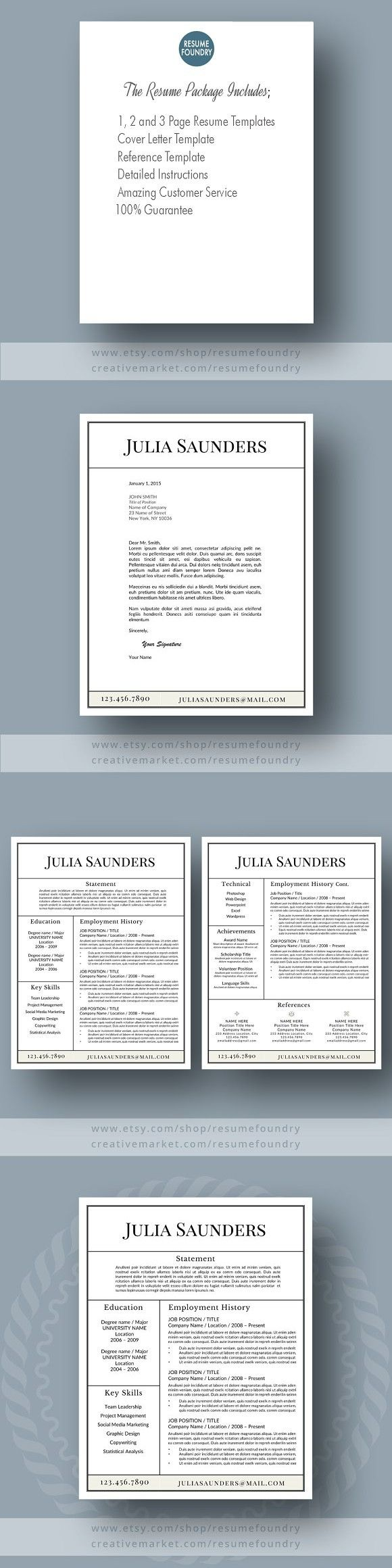 Classic Resume Template MS Word resumetemplate