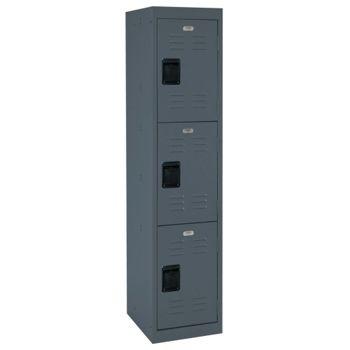 Triple Tier Steel Locker - 15W - 31904 and more Lifetime Guarantee