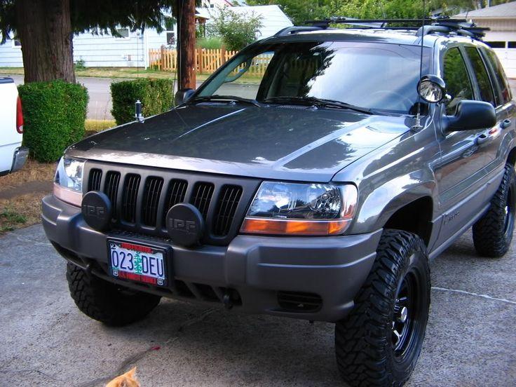 jeep wj bumper ligths