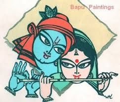 Image result for bapu paintings images