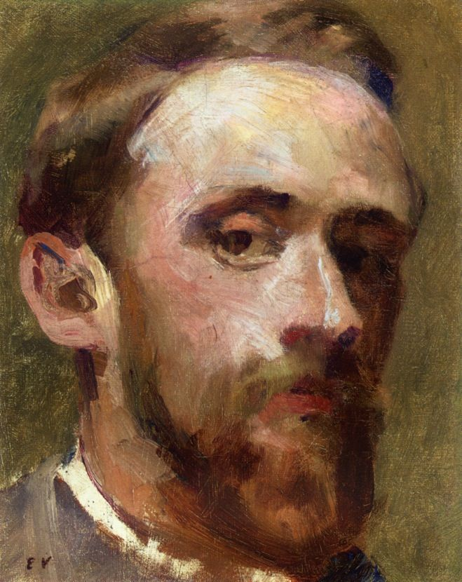 artistandstudio:    Edouard Vuillard (French, 1868-1940), Self-portrait
