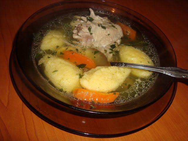 Supa de pui cu galuste - CAIETUL CU RETETE