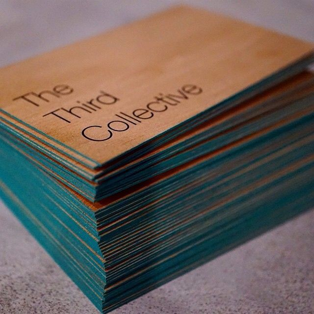 #repost from @tristanmunderhill. We're loving this #mahoganywood and teal edge paint combination . Thanks @the_third_collective for printing on wood!  #printonwood #print #design