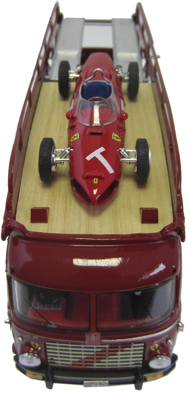 Spark 1 43 john player spl lotus 72d 5 winner spain 1972 world champ - Brumm 1 43 Fiat 642rn2 Ferrari Transporter