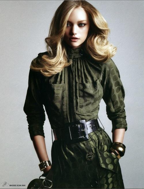 Gemma Ward - that hair