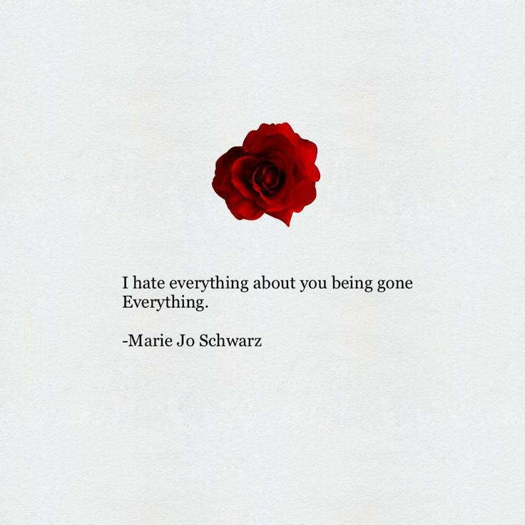 "214 gilla-markeringar, 3 kommentarer - Marie Jo Schwarz (@mariejowriting) på Instagram: ""I hate everything about you being gone Everything I am now A sad girl A bad girl A mad girl An in…"""