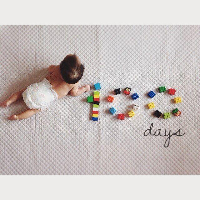 2016.3.29 shunとレゴで遊んでてふと隣に寝てたioriをみて閃き 撮ってなかった生後100日目撮影大会へ #生後100日 #詳しくは105日w #100daysold #babyphotography #lego #レゴ #legos #legostagram #おうち写真館 #兄妹 #自宅撮影 #コズレ #ロカリ #wms_kids #mamanoko #babyingram #ig_oyabakabu #ig_babyphoto #babygram #cutebabygirl #ig_baby #ig_babyphoto by cayo0214