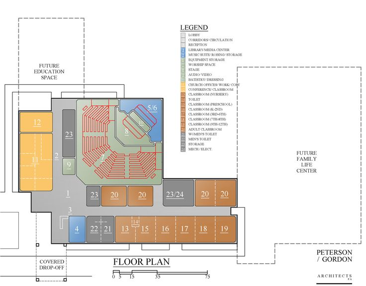 10 best church blueprints images on pinterest for Church floor plan designs