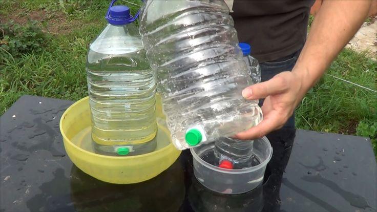 Fabrica Un Bebedero Gratis Para Tus Mascotas como perros, gatos etc o incluso para nuestro huerto para nuestras gallinas patos, que no les falte agua fresca