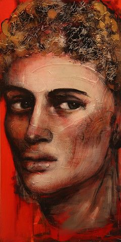 Private Commission Works | Corno E-Store          Saint Sebastian 1. Man with distrust in his eyes.