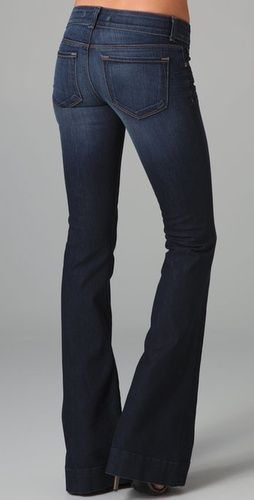 J-Brand Lovestory, $180. I <3 flare jeans... not that I would ever buy $180 jeans, but they are cute! LOL