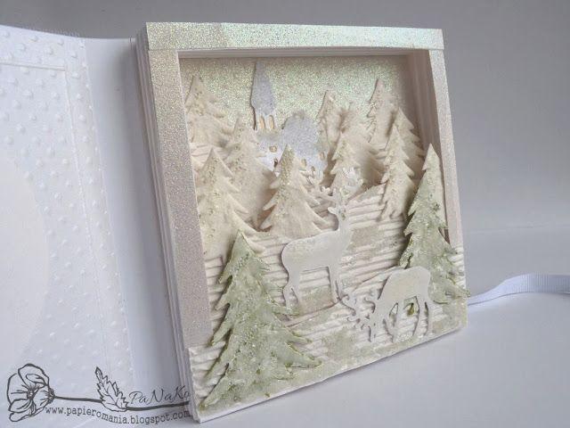 Papierowa mania: Białe Święta - White Christmas